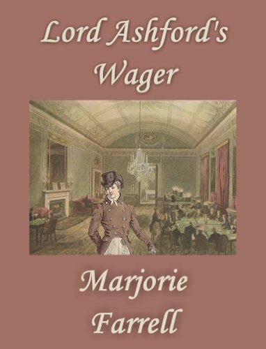 Cover image of the Regency romance novel Lord Ashford's Wager by Marjorie Farrell